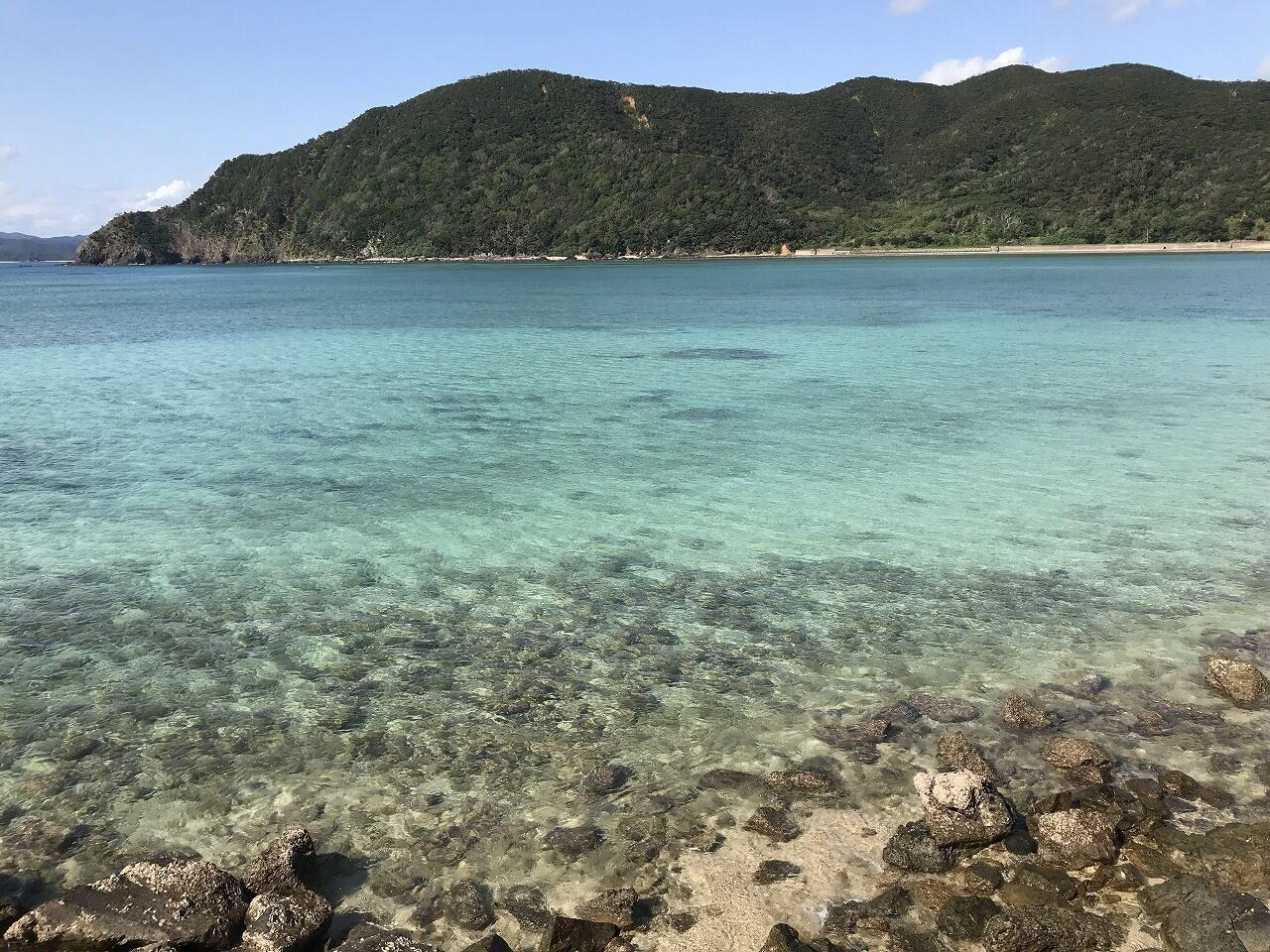 奄美大島体験記 6あおい海