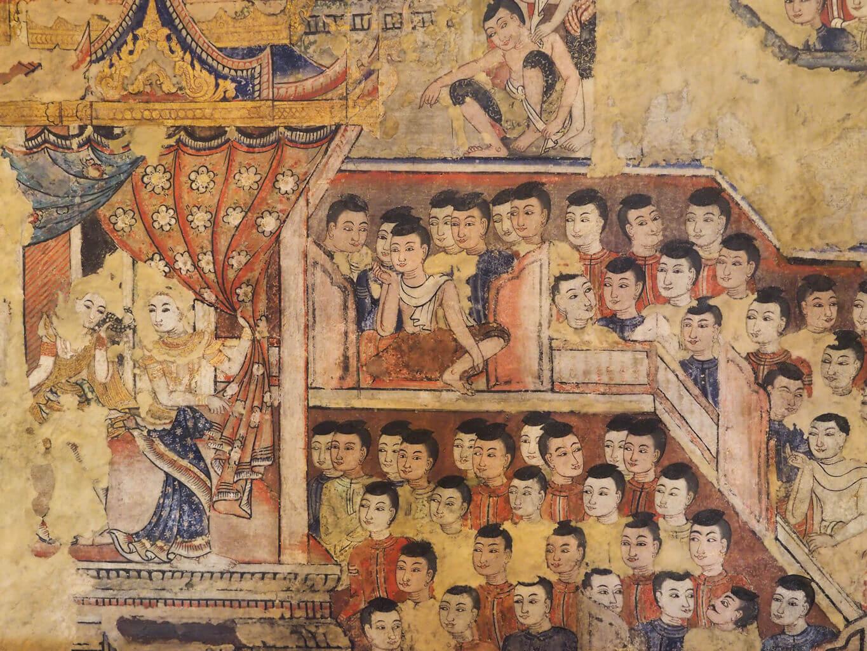 チェンマイ ワット・プラシン(壁画)