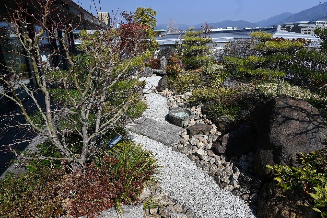 リッツ宿泊体験記 ガーデンテラススイートの庭