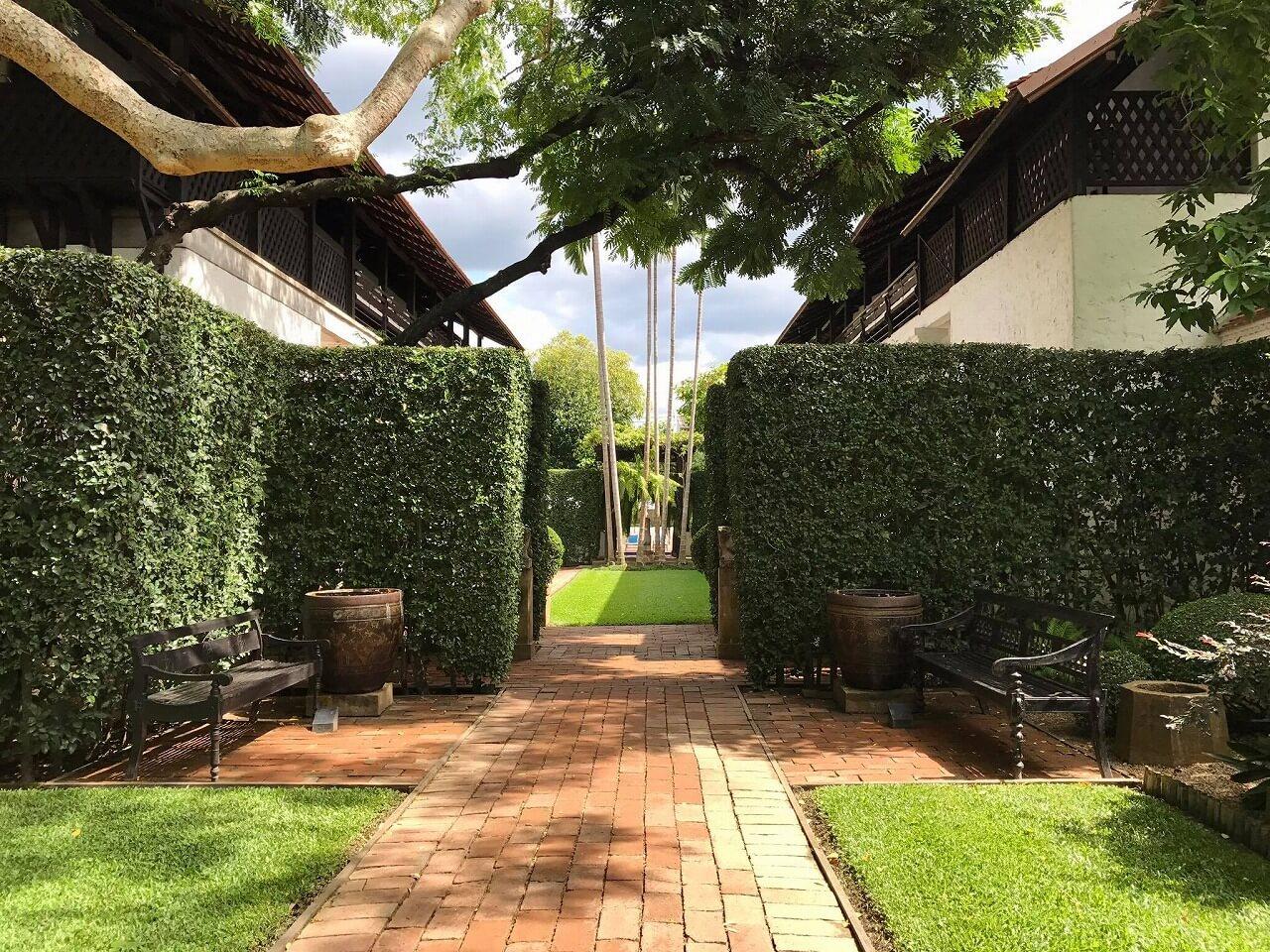 ラチャマンカ 庭