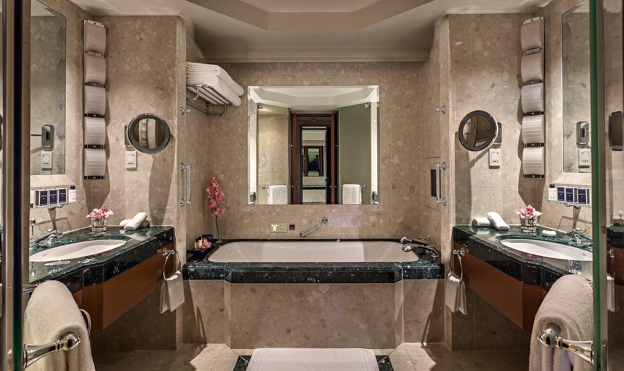 ペニンシュラバンコク バスルーム