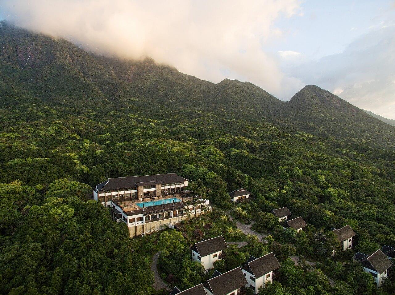 サンカラ ホテル&スパ屋久島 外観