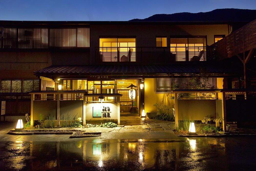 ホテル祖谷温泉 外観