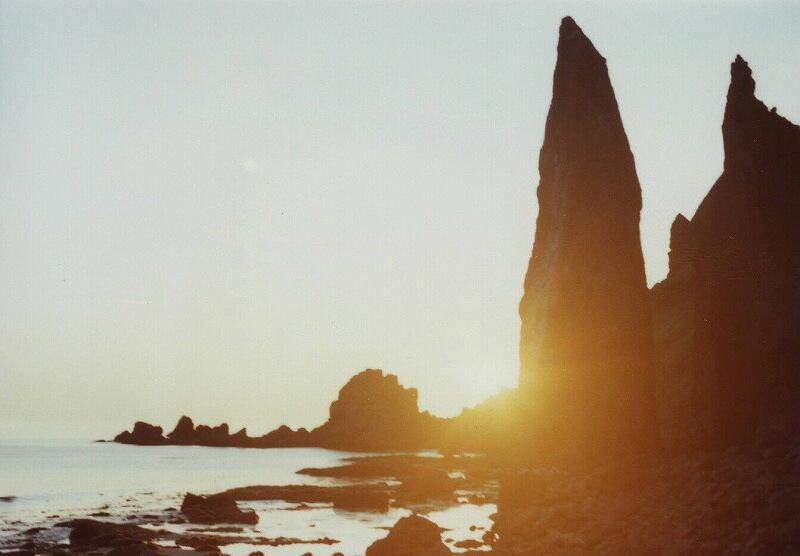 礼文島 地蔵岩