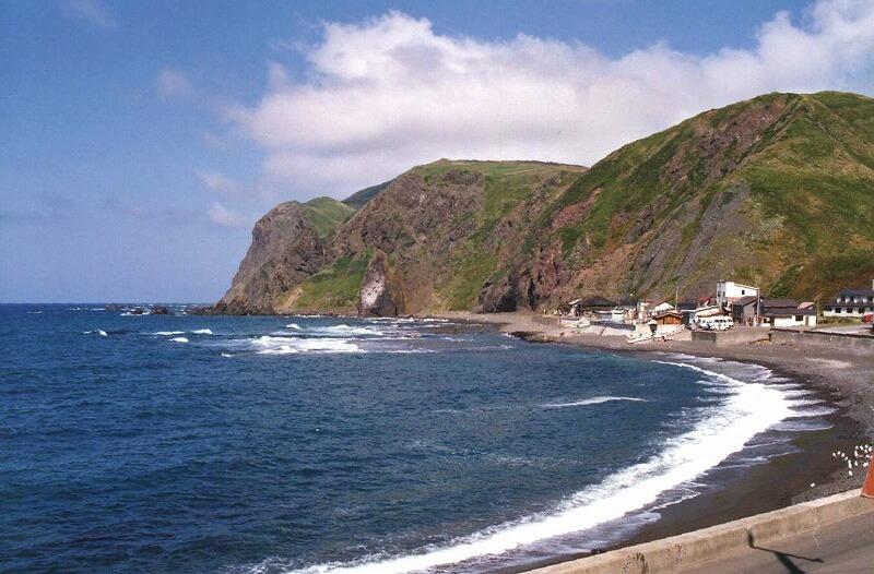 礼文島 メノウ浜