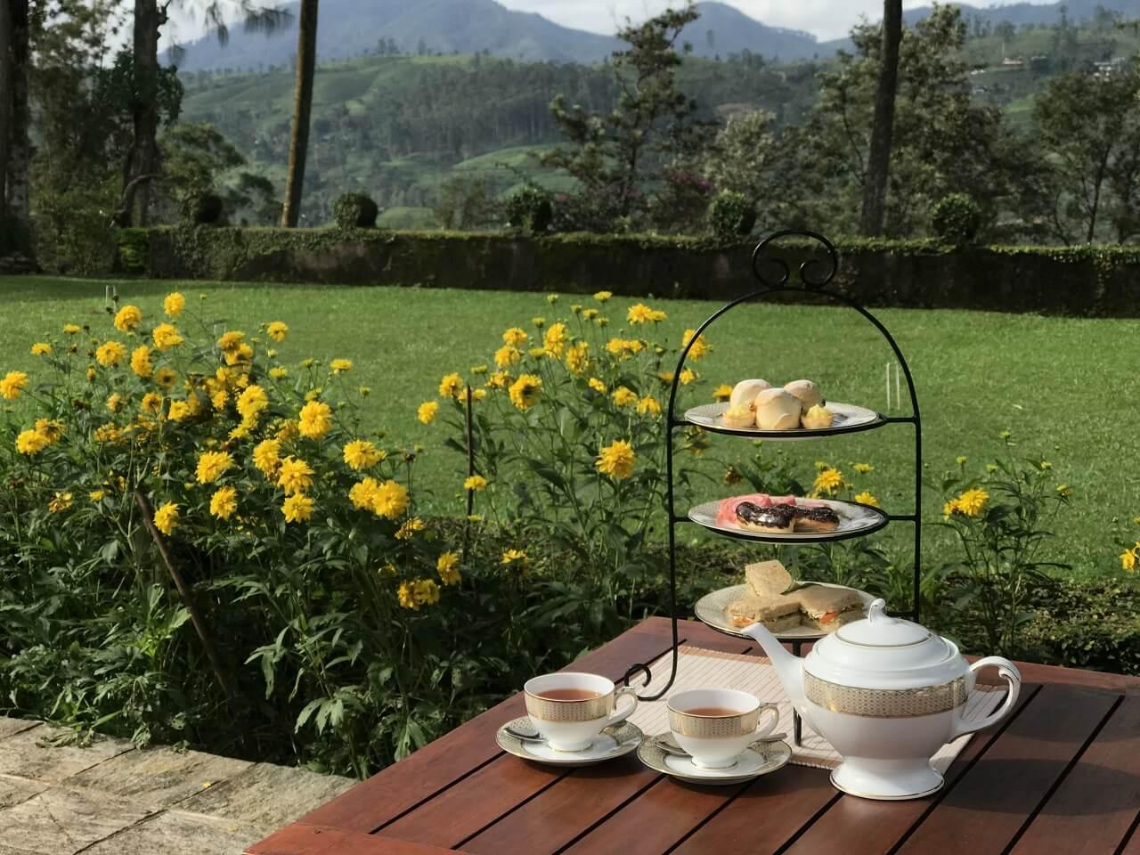 「セイロン紅茶」の国・スリランカ 1アフタヌーンテイ―