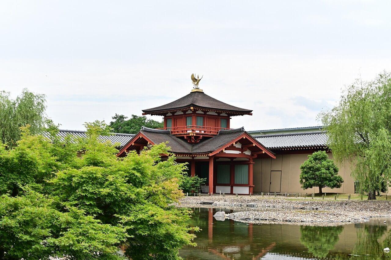 奈良 平城宮跡 東院庭園