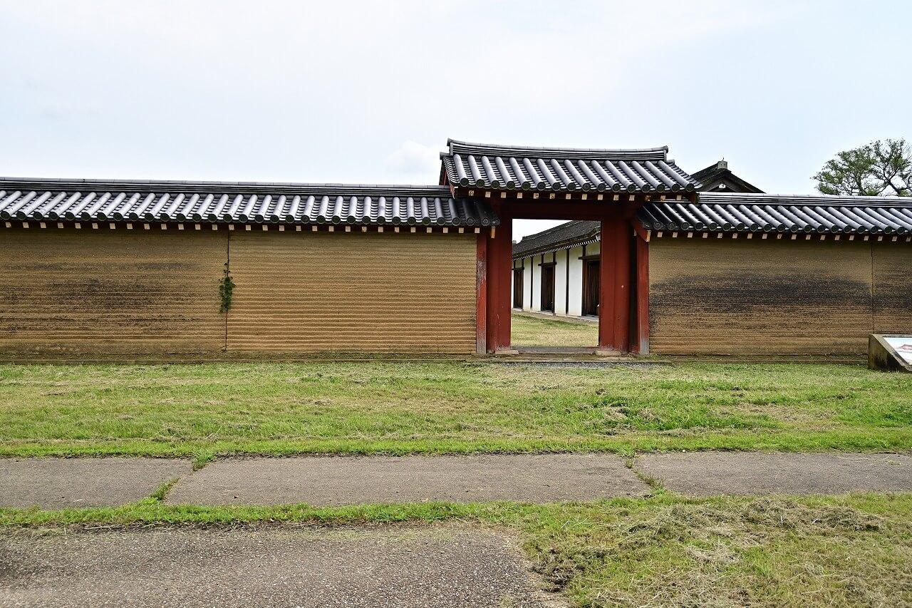 奈良 平城宮跡 推定宮内省