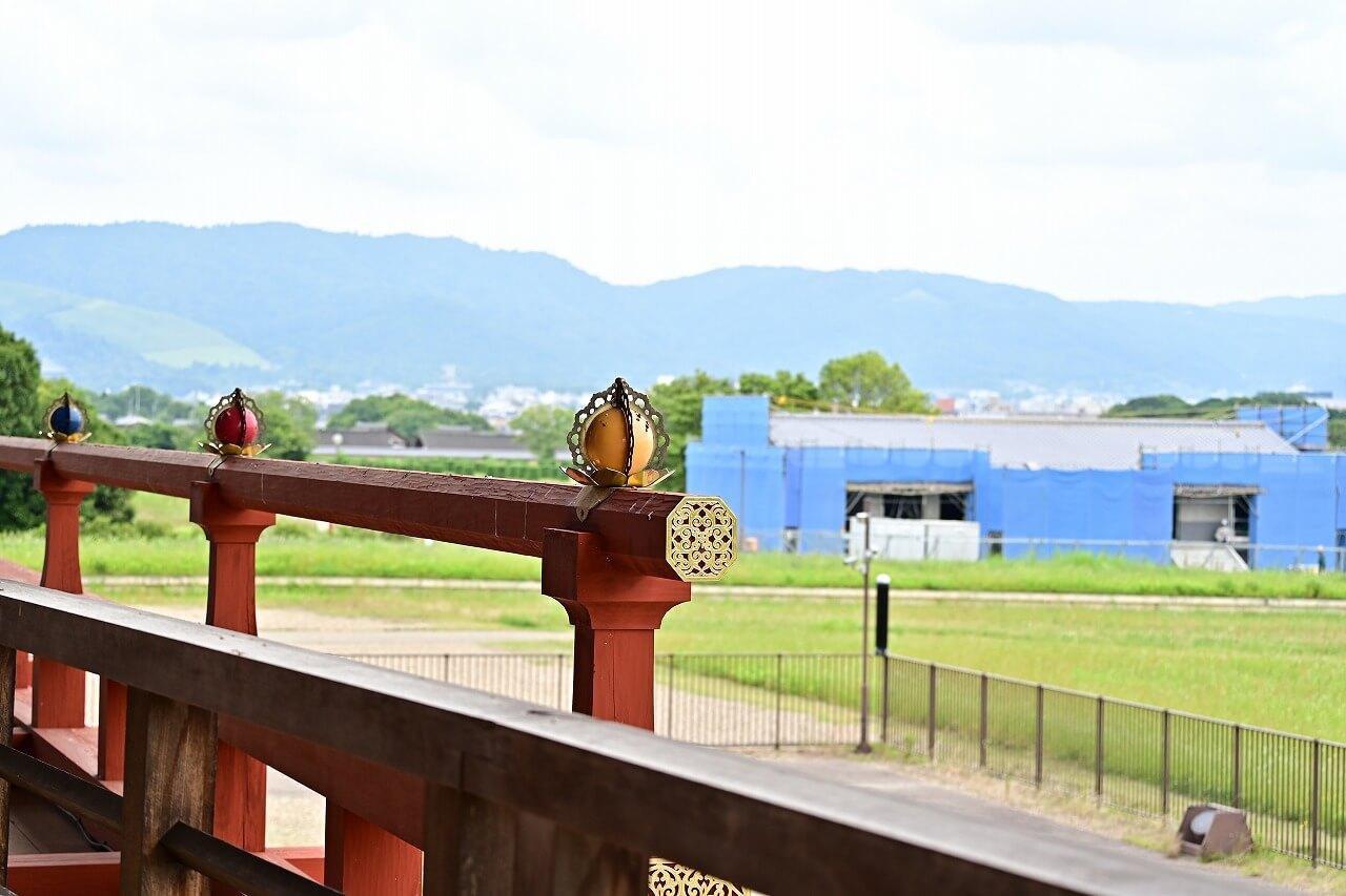 奈良 平城宮跡 第一次大極殿