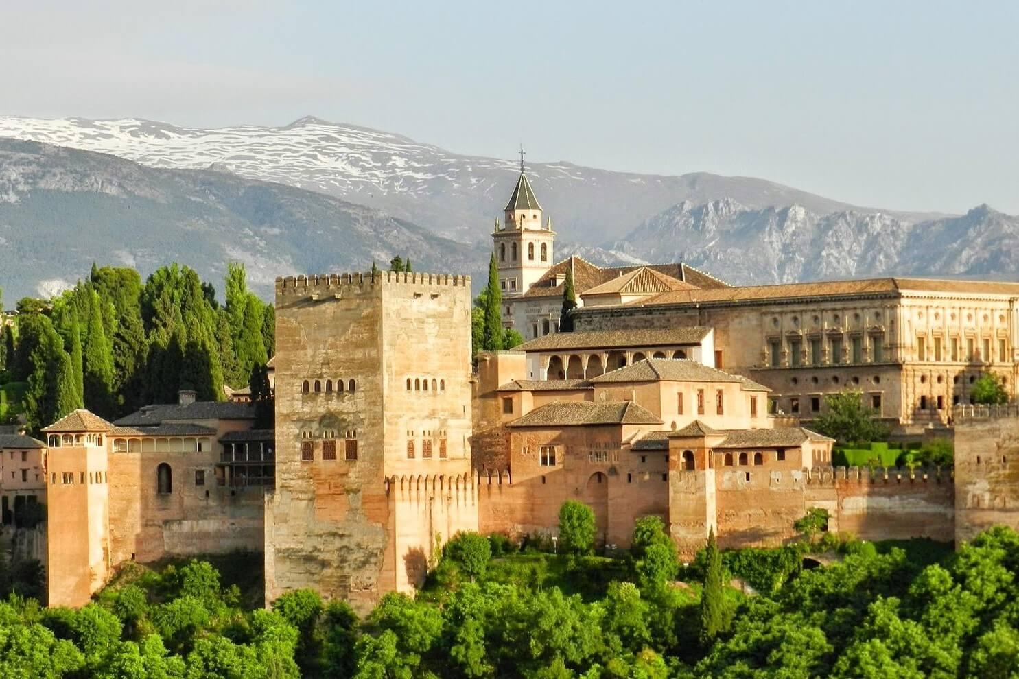 アンダルシア グラナダ アルハンブラ宮殿