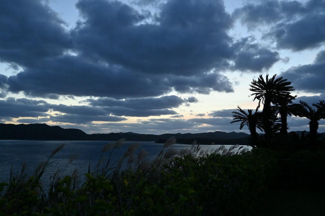 奄美大島撮影 ホテルからの眺め