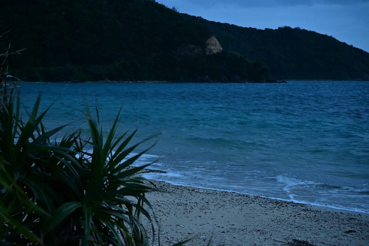 奄美大島撮影 ホテル周辺ビーチ