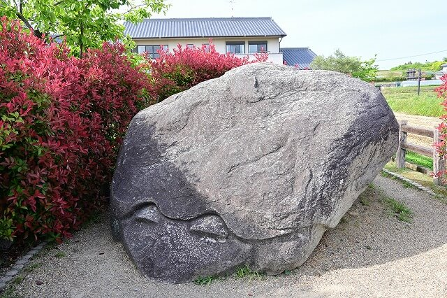 飛鳥視察 亀石