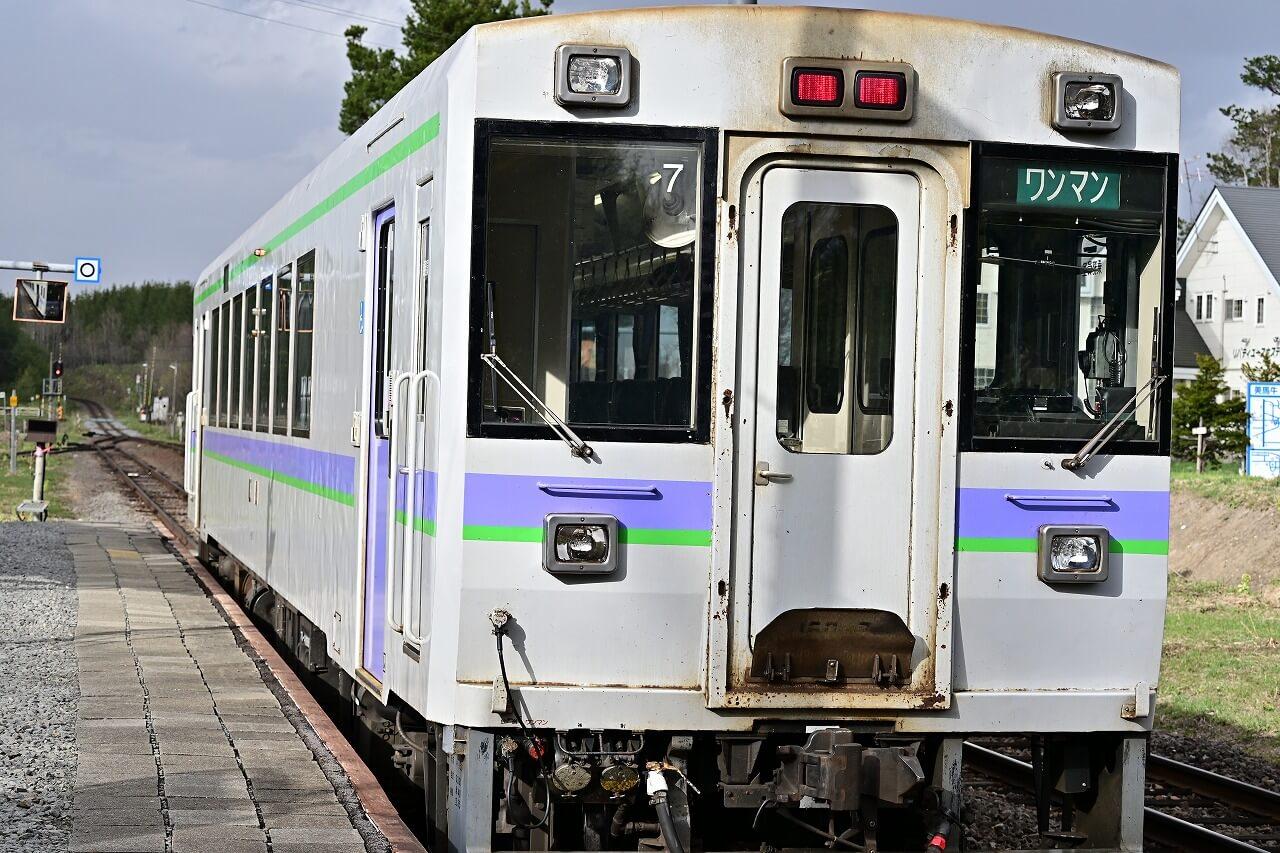 美瑛 電車