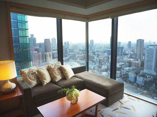 インターコンチネンタルホテル大阪 2ベッドルームレジデンス