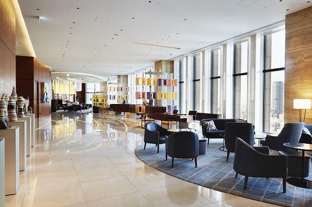 インターコンチネンタルホテル大阪 ロビー