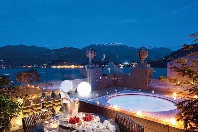 グランド ホテル トレメッツォ Rooftop Corner Suite - Terrace