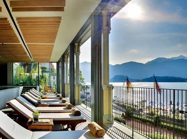 グランド ホテル トレメッツォ T Spa - Panoramic lounge