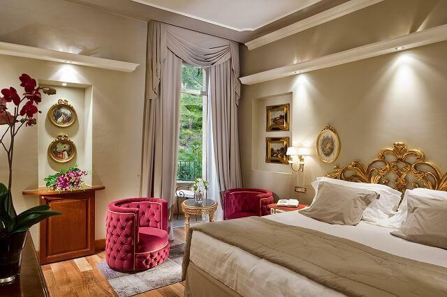 グランド ホテル トレメッツォ Park View Prestige Room
