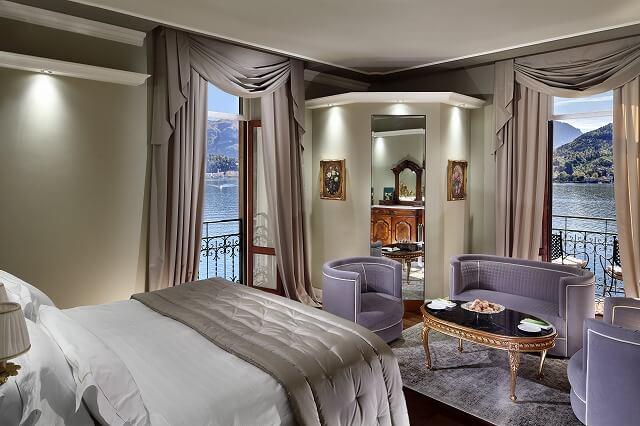グランド ホテル トレメッツォ Lake View Deluxe Room