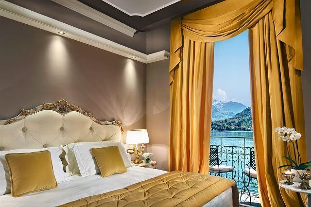 グランド ホテル トレメッツォ Signature Suite - Bedroom