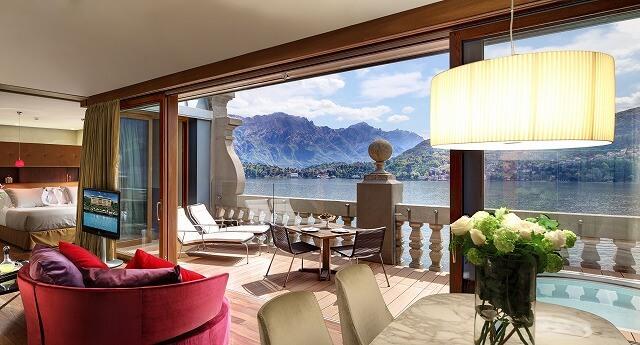 グランド ホテル トレメッツォ Rooftop Front Suite