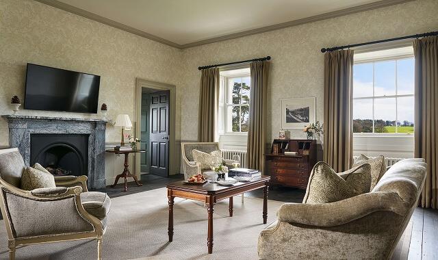 カートン ハウス House Garden Suite living area
