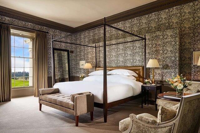 カートン ハウス House Presidential Suite Duke bedroom