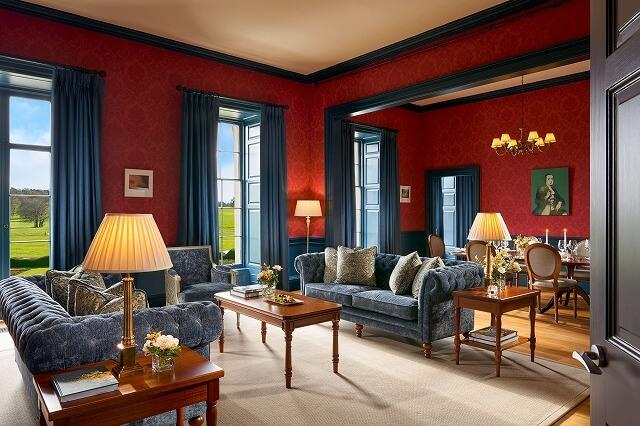 カートン ハウス House Presidential Suite living area- The Duke